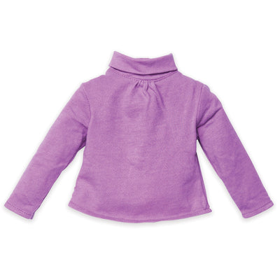 Manitoba Wildflowers long sleeved pink shirt fits all 18 inch dolls.