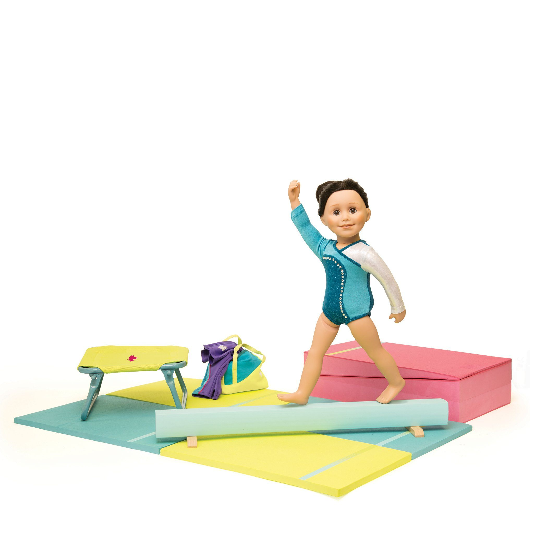 Gymnastics Equipment In Canada: Gymnastics Set For 18 Inch Dolls
