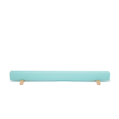 Maplelea gymnastics equipment light blue balance beam for all 18 inch dolls.