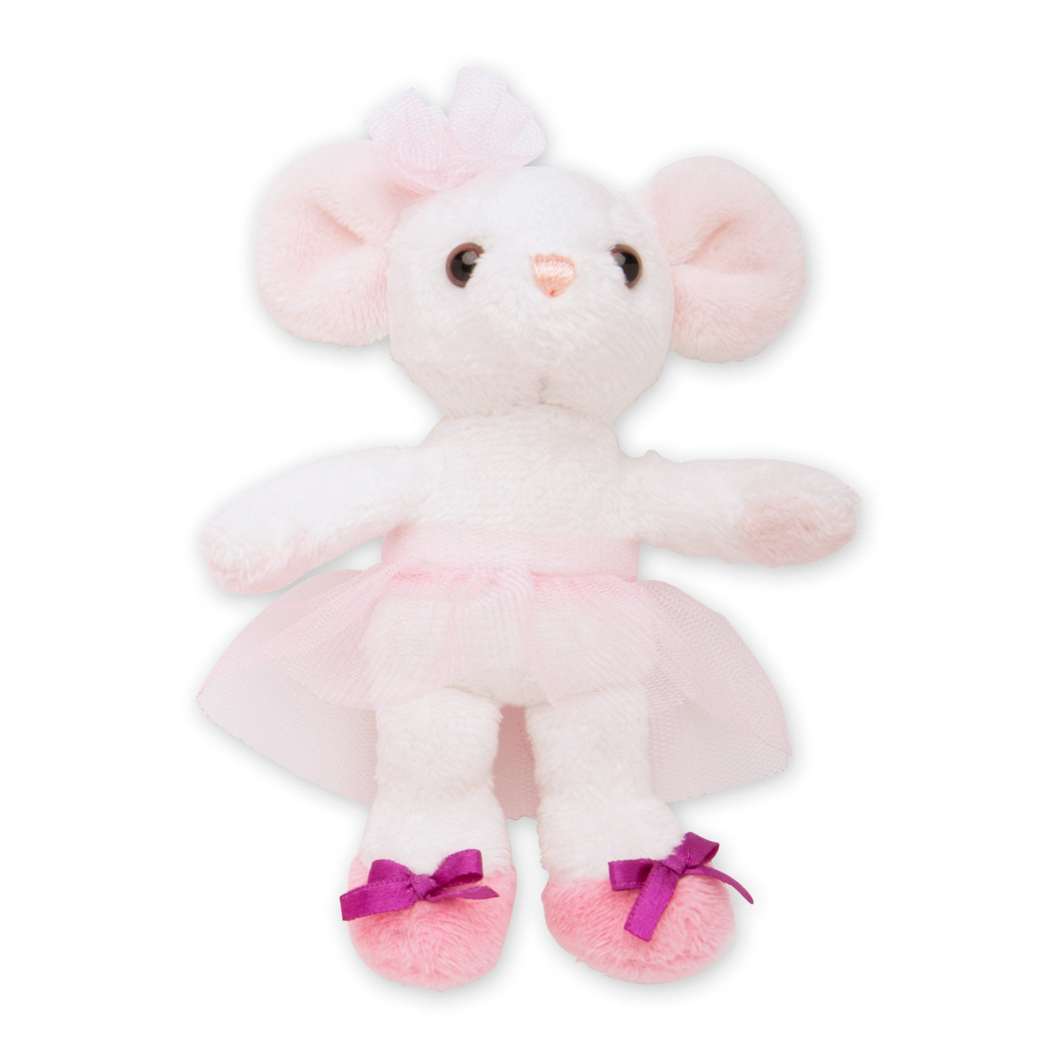 plush ballet mouse for 18 inch dolls