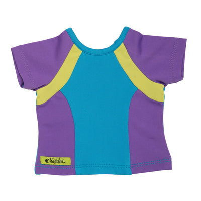 colorful t-shirt for 18 inch dolls