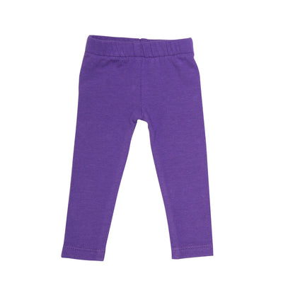 Purple leggings fits all 18 inch dolls.