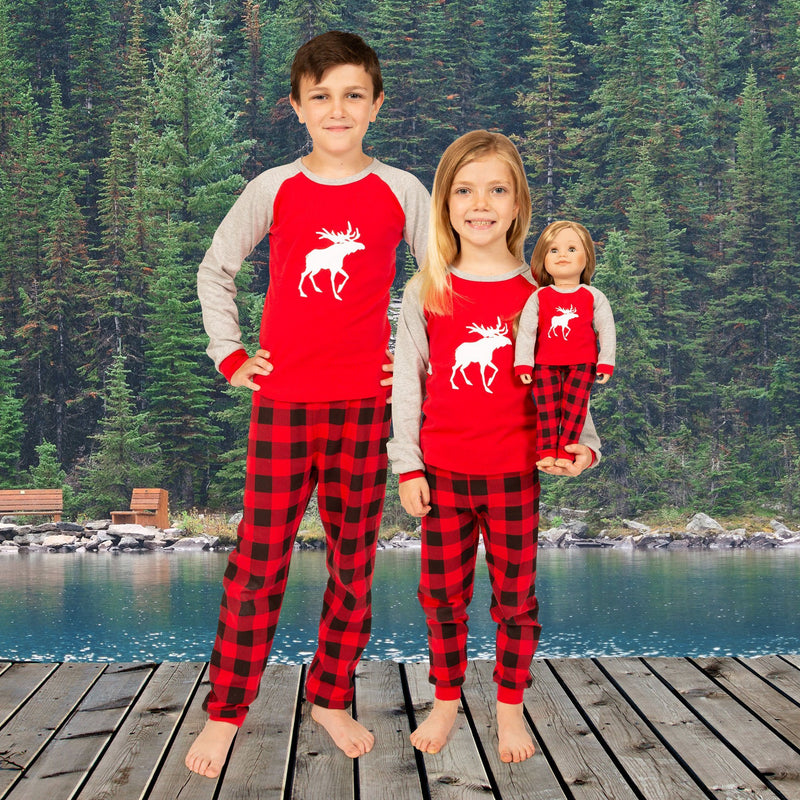 Canadian Moose PJs for Kids