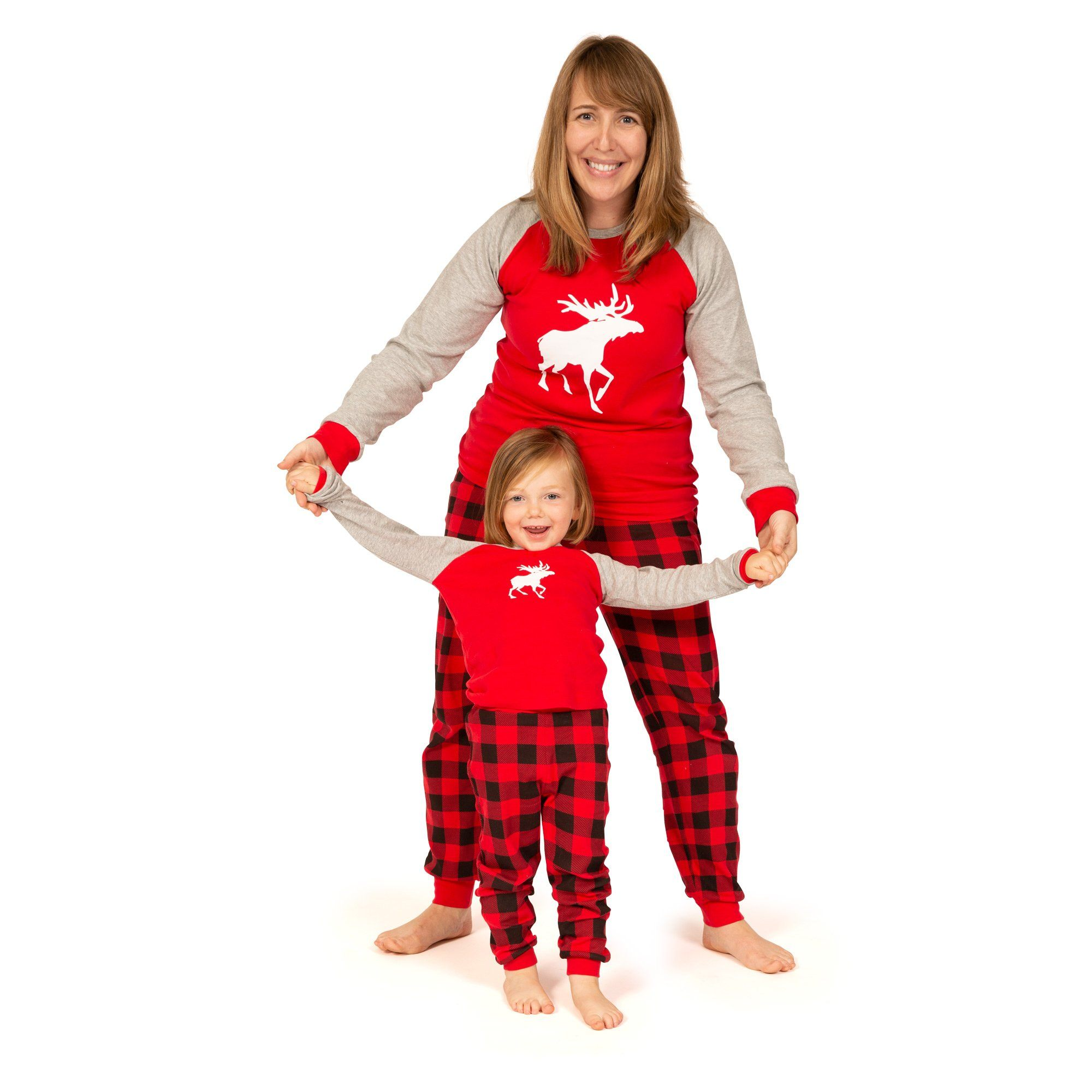 Canadian Moose PJs for Toddlers
