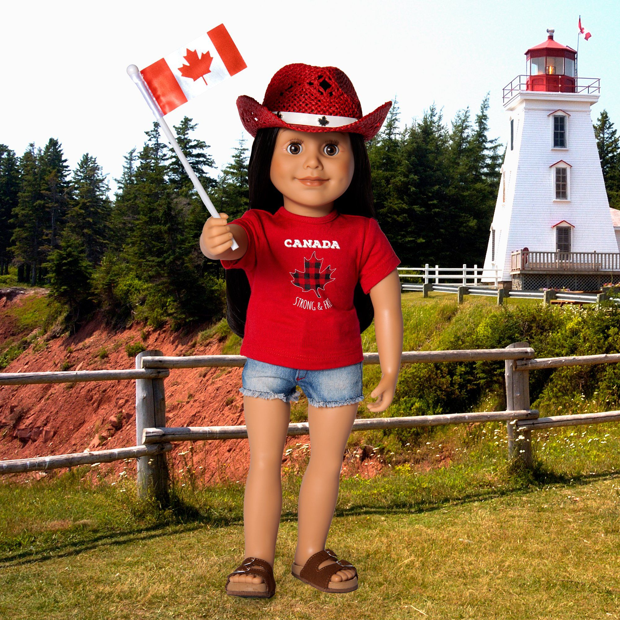 Oh Canada! Outfit for Dolls