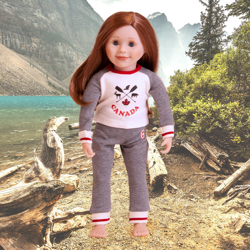 Iconic Canadian PJs for Dolls