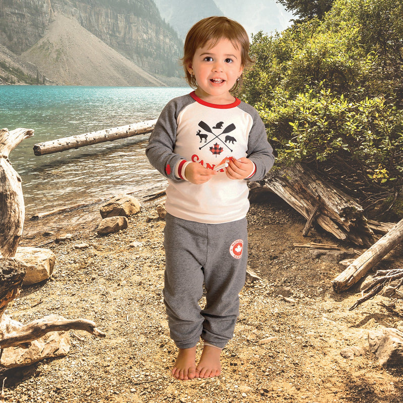 Iconic Canadian PJs for Toddlers