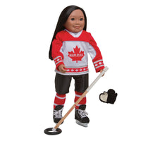 Ringette Gear with Hockey Style Pants NO SHOULDER PADS, NO HELMET