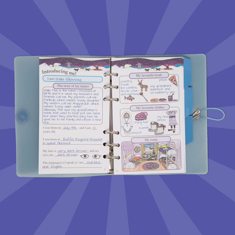 Maplelea Doll Saila story journal
