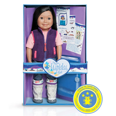 Maplelea doll Saila with story journal outfit and box KS1
