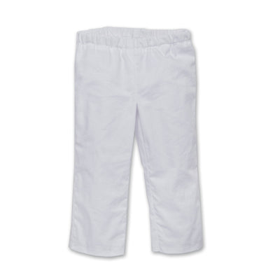 Karate Kicks gi white pants fit all 18 inch dolls.