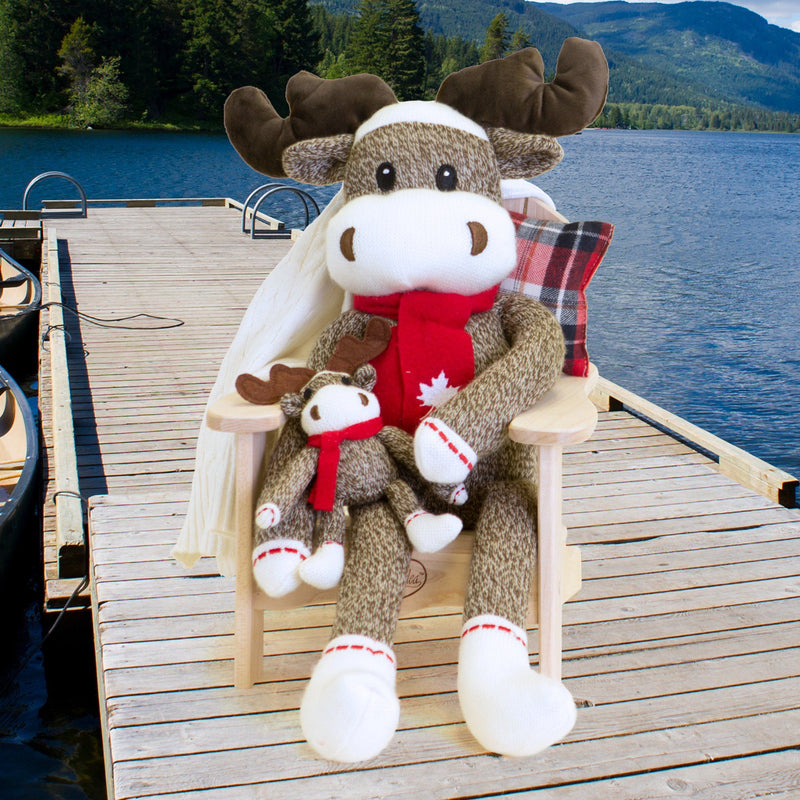 Maplelea Moose - Large Sock Moose