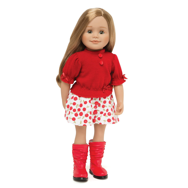 Maplelea Canadian Girl Doll Leonie from Quebec.  18 inch doll.