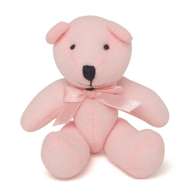 Nightie Night pink teddy bear suitable for all 18 inch dolls.