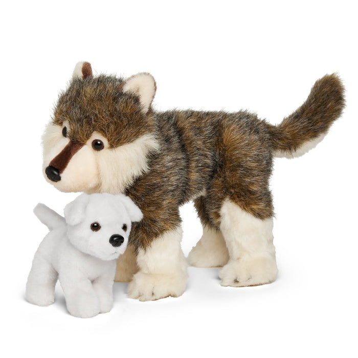 Nukilik and Nanuq plush dogs for all 18 inch dolls. Mom