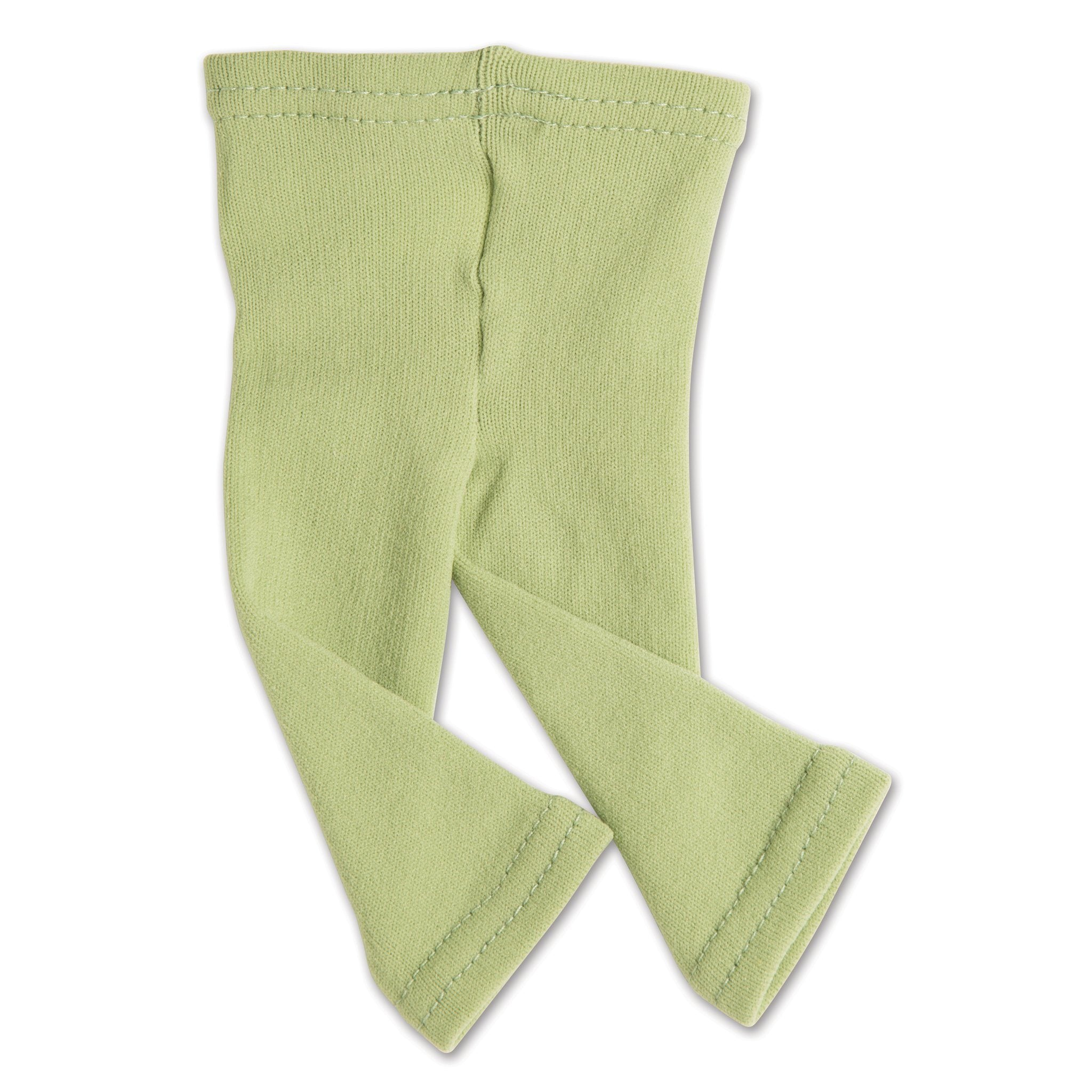 Outdoor Odyssey green footless tights fit all 18 inch dolls.