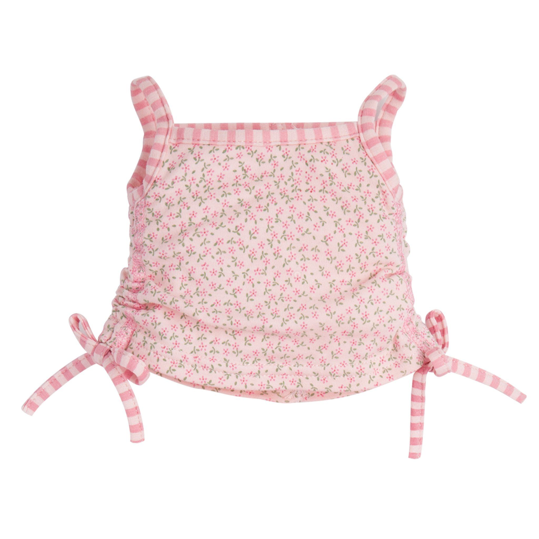 Perfectly Pink Pyjamas floral pink tank top fits all Maplelea dolls.