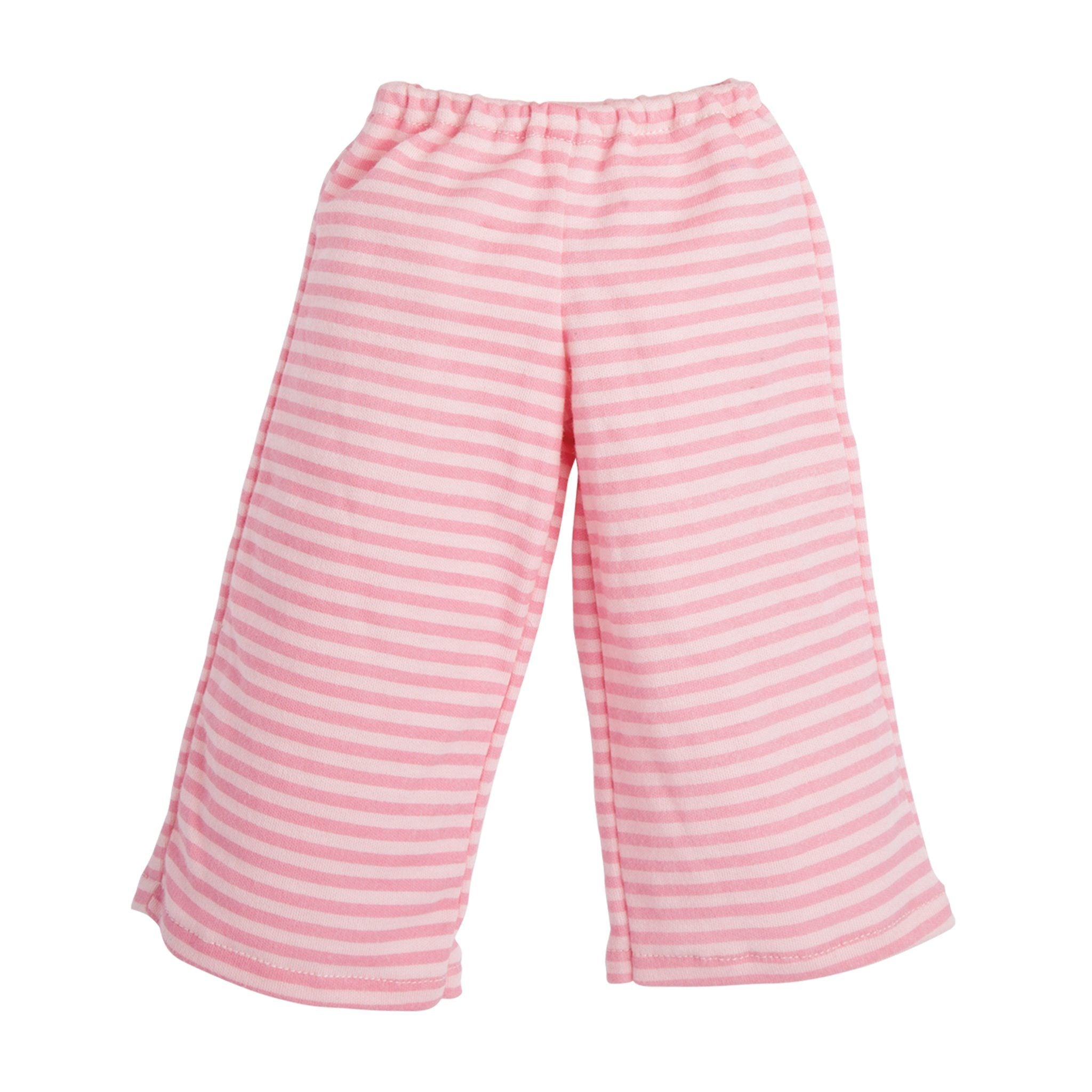 Perfectly Pink Pyjamas striped pink PJ pants fits all Maplelea dolls.