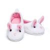 Perfectly Pink Pyjamas fuzzy bunny slippers fits all Maplelea dolls.