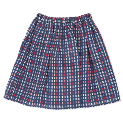 Pioneer Quebecoise 8-piece heritage outfit plaid full-length skirt fits all 18 inch dolls.