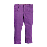 Positively Peaceful casual outfit purple pants Fits all 18 inch dolls.