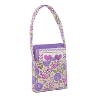 Rose of hearts floral bag with 4 heart-themed note cards and envelopes fits all 18 inch dolls.