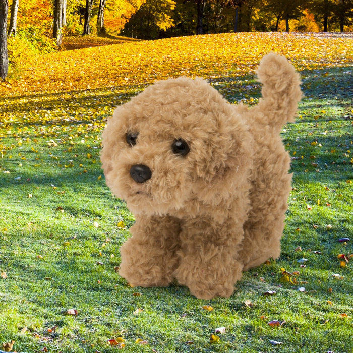 Sable plus Maltipoo dog for all 18 inch dolls.