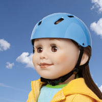 Blue Safety Helmet for all 18 inch dolls.