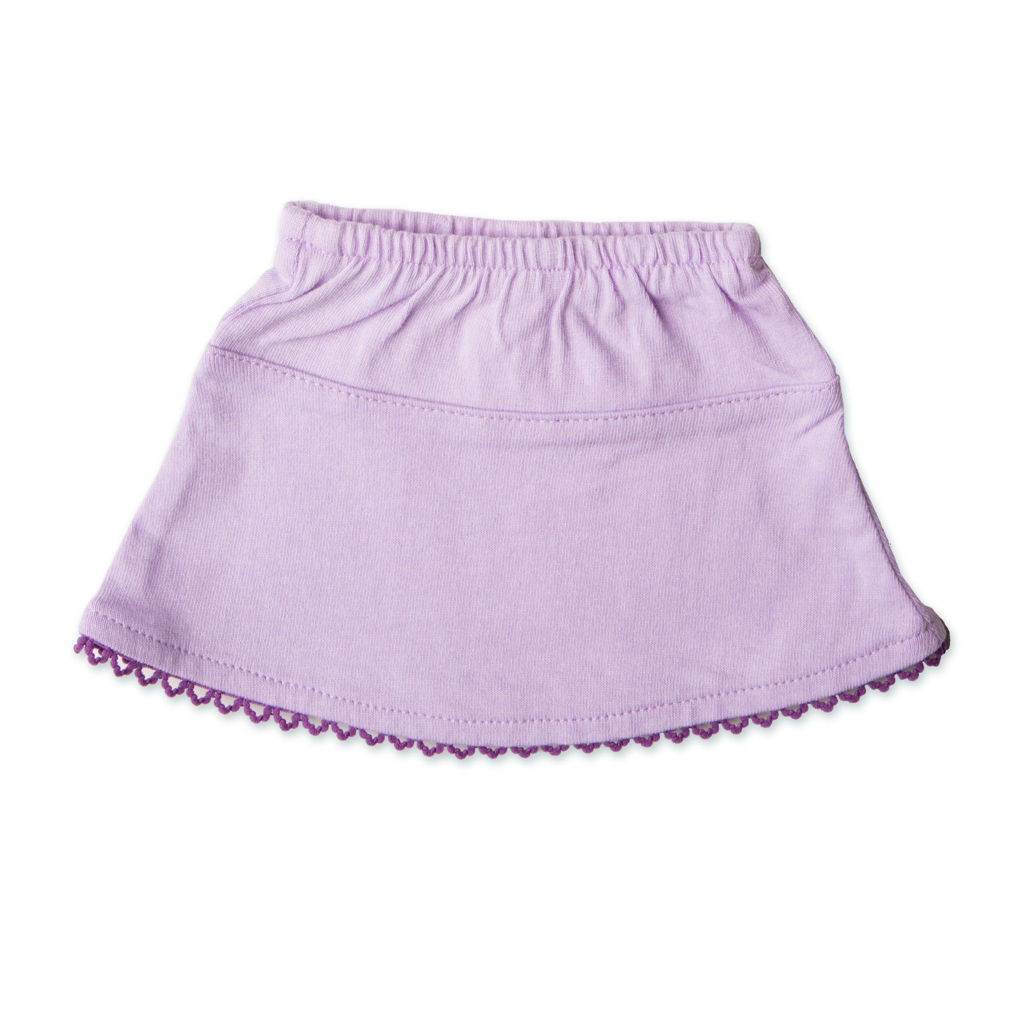 Set to Celebrate light purple skirt fits all 18 inch dolls.