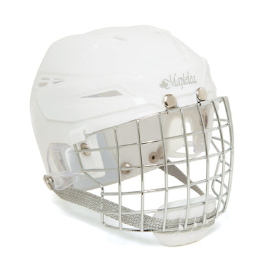 white skating helmet fits all 18 inch dolls.
