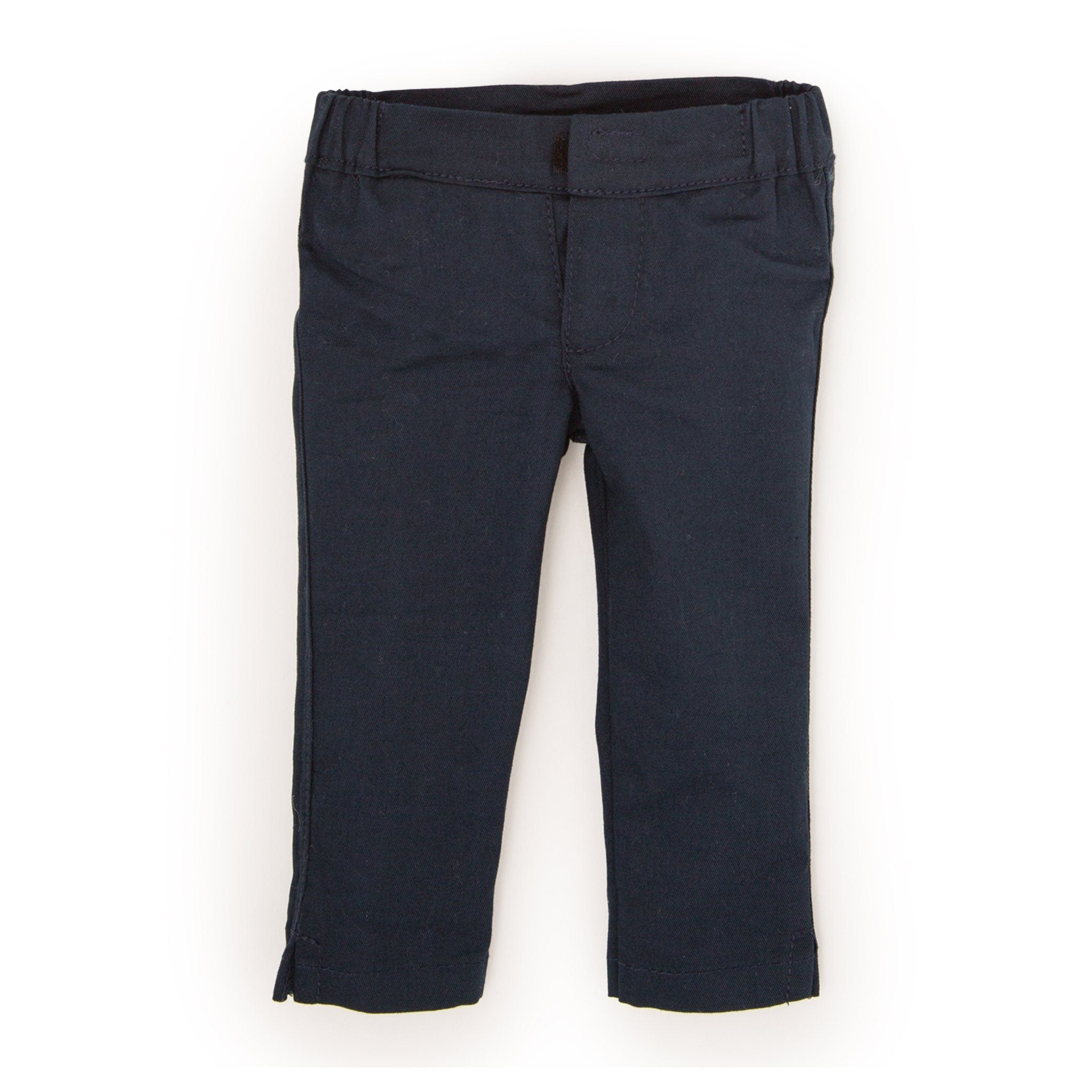 Snow Cute navy slim-fit pants fits all 18 inch dolls.