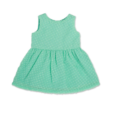 Stampede Style mint green sundress fits all 18 inch dolls.