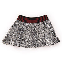 Town and Country silver sequin skirt fits all 18 inch dolls.