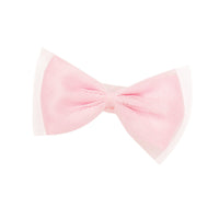 Very Prairie pink hair bow fits all 18 inch dolls.