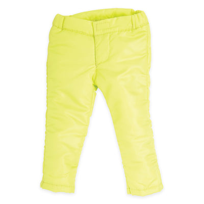 Weekend at Whistler bright green snow pants fit all 18 inch dolls.
