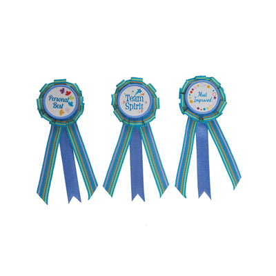 Winner's Circle 3 participation ribbons for all 18 inch dolls.