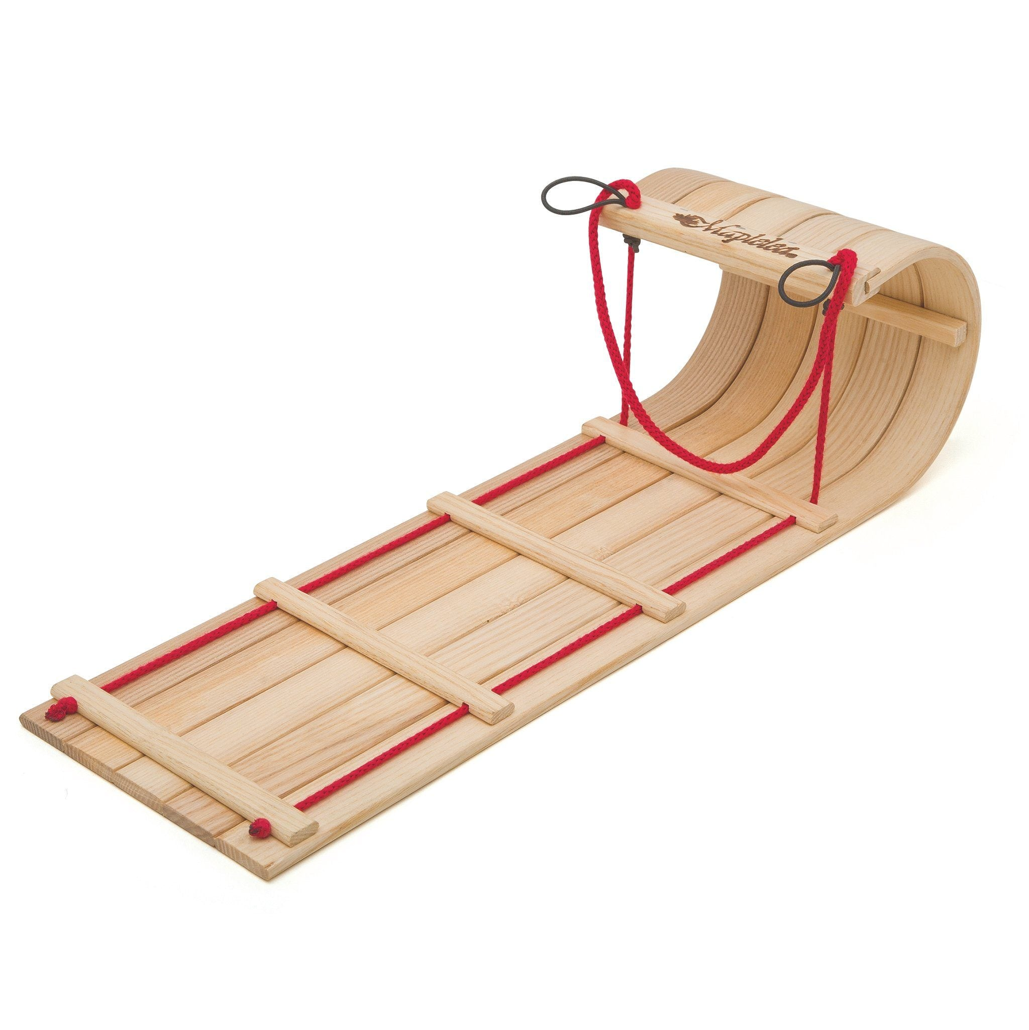 Wooden toboggan fits all 18 inch dolls.