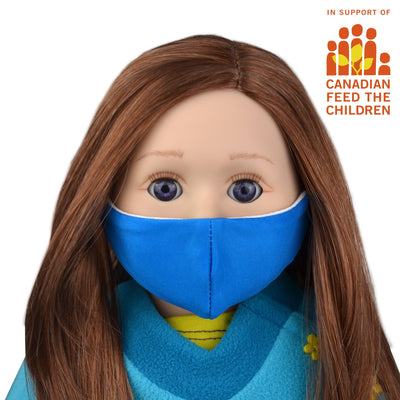 Face Mask for Dolls - In support of Canadian Feed the Children