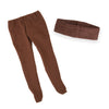 Florabundance brown tights and cummerbund fits all 18 inch dolls.