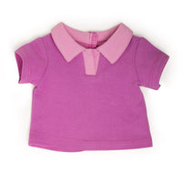 Hold Your Horses pink polo fits all 18 inch dolls.