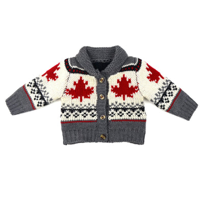 Maple Leaf Forever Knit Cardigan