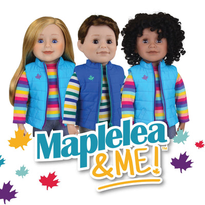 KMF36 Maplelea&ME! Doll and Story Journal