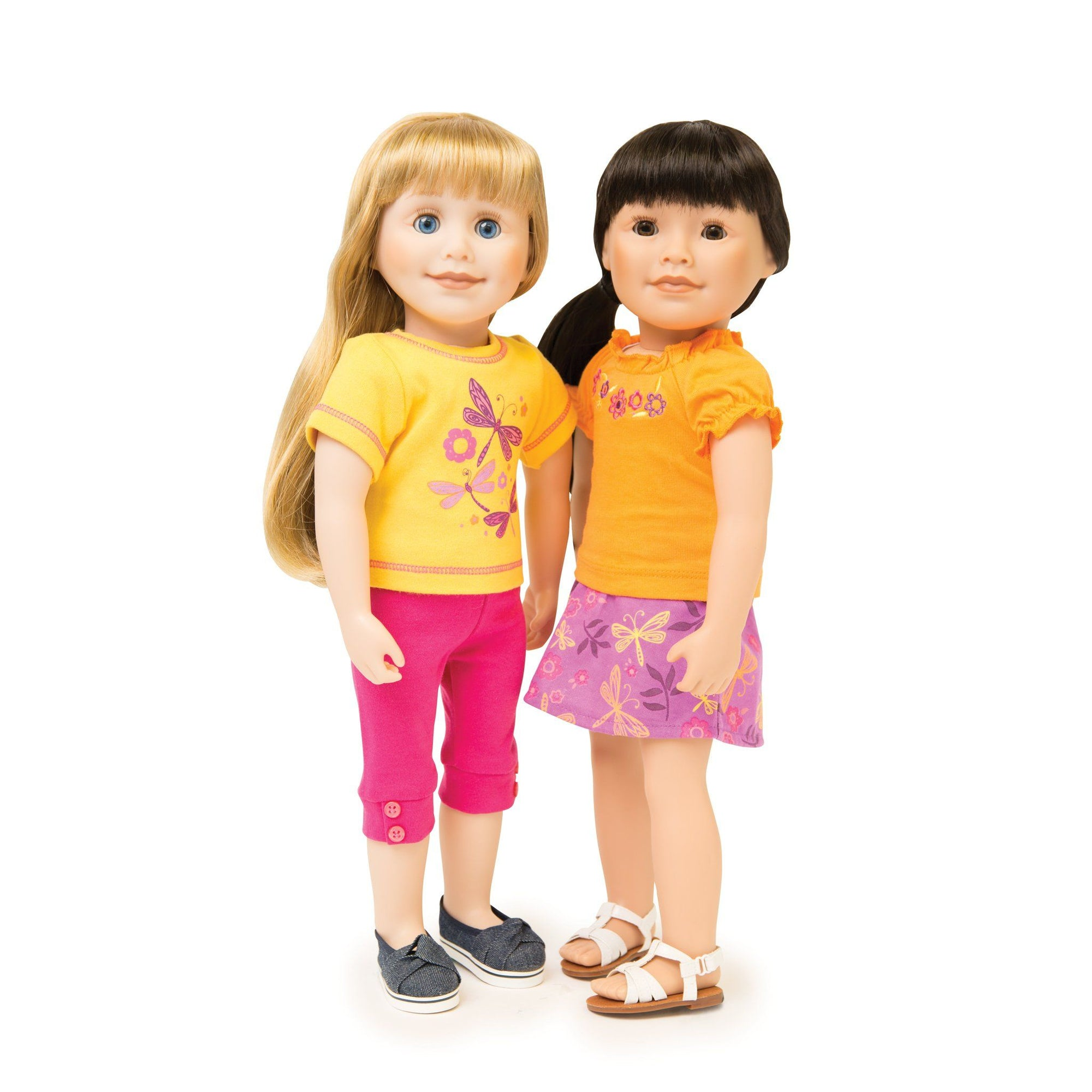 4 piece mix and match summer outfit for 18 inch dolls