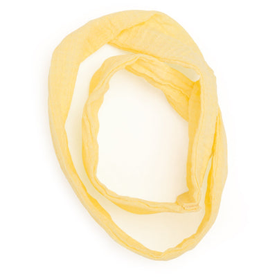 Artfully Inspired casual outfit yellow infinity scarf fits all 18 inch dolls.