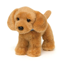 Plush Golden Retriever puppy dog with collar for all 18 inch dolls
