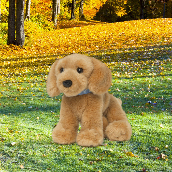 Plush Golden Retriever puppy dog for all 18 inch dolls