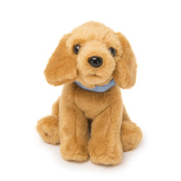 Plush Golden Retriever puppy for all 18 inch dolls, sitting