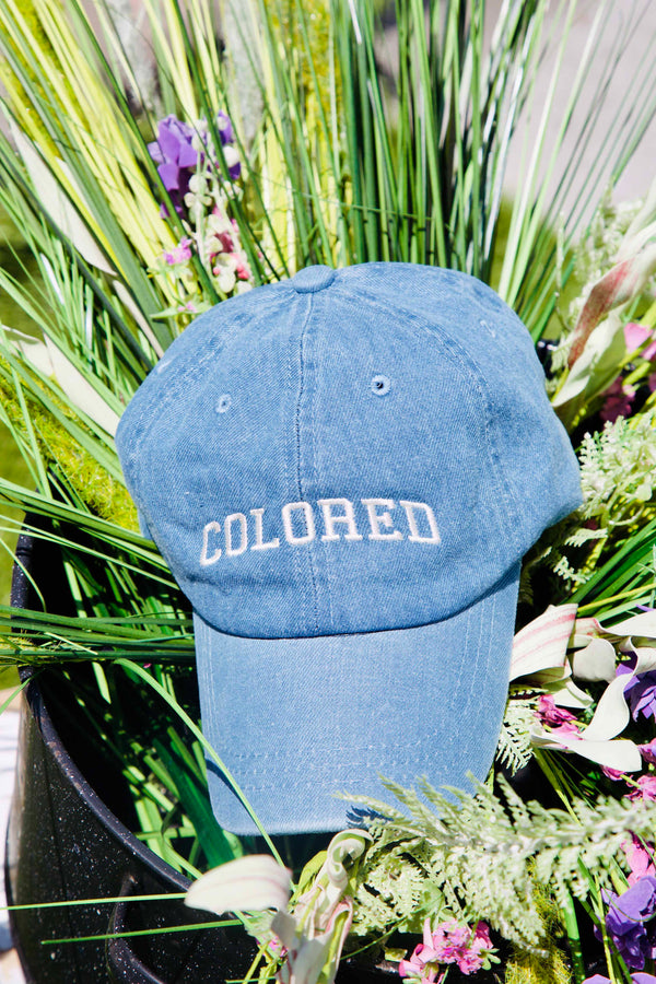Classic Denim Reclamation Dad-Cap
