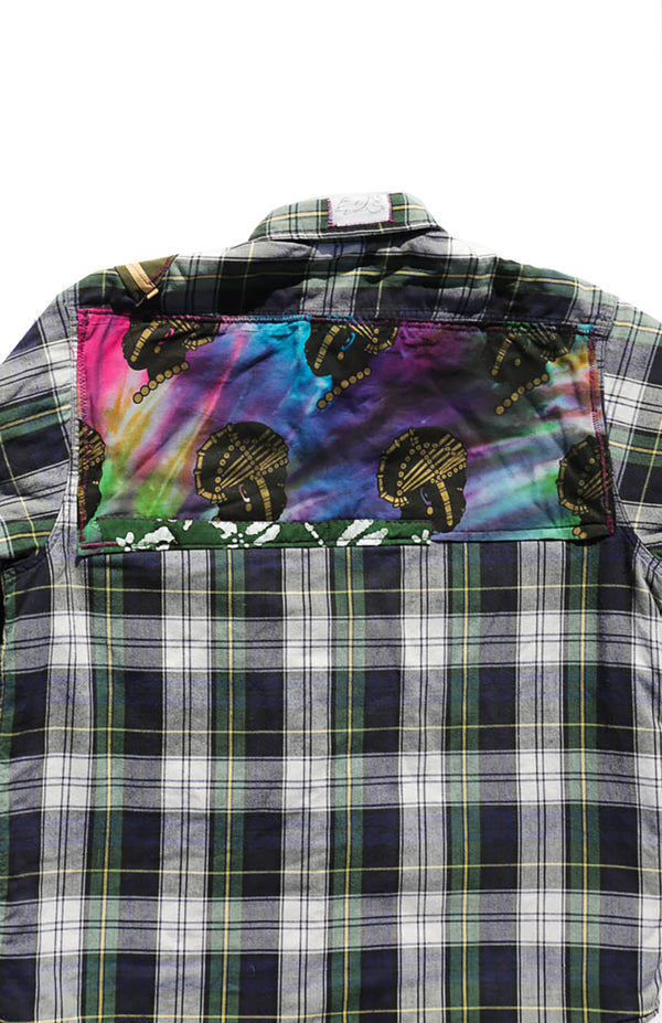 Native Chief Plaid Shirt