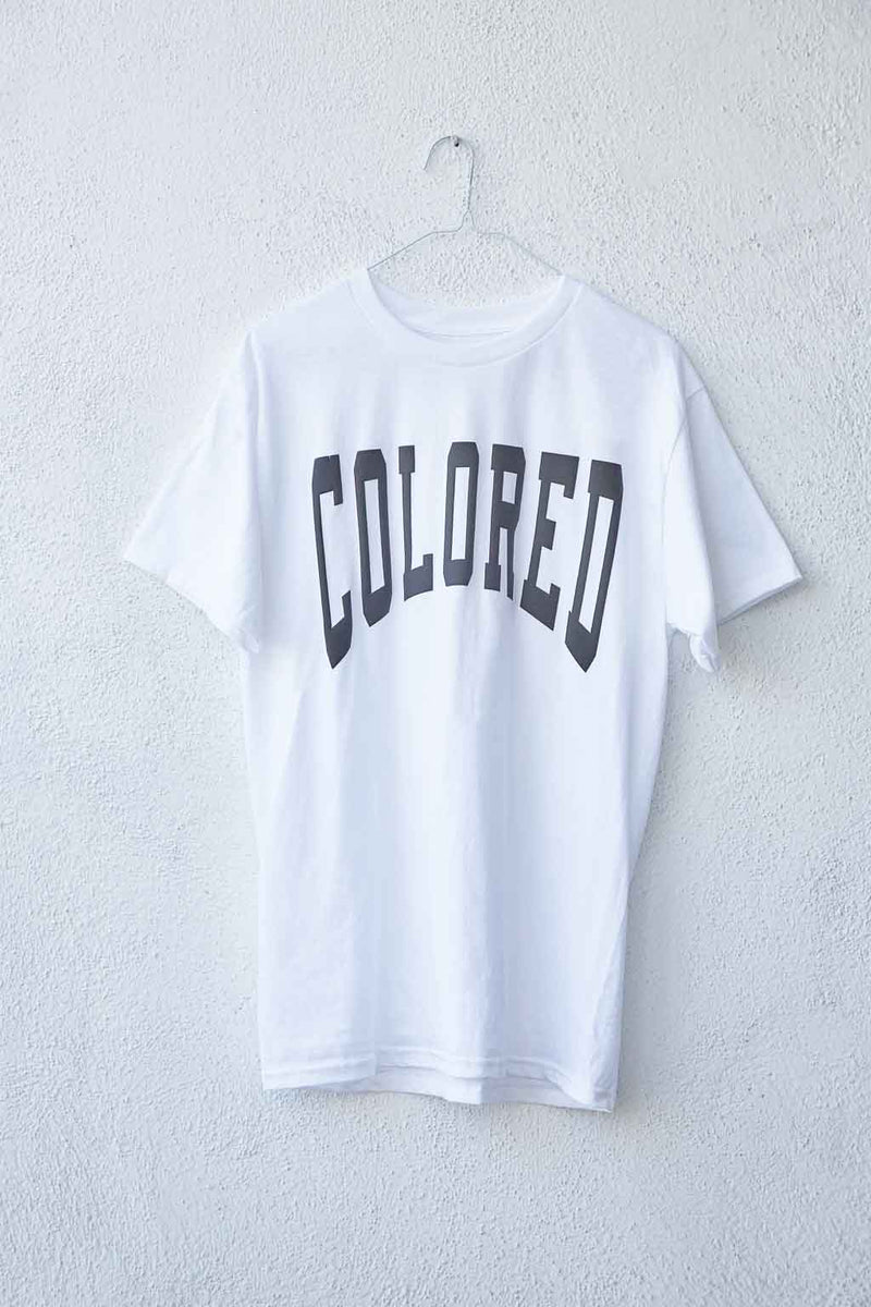 The Reclamation Varsity Font t-shirt in white